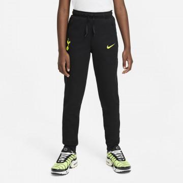 Pantalon survêtement junior Tottenham Fleece noir jaune 2021/22