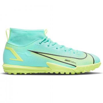Nike Mercurial Superfly 8 junior Academy Turf bleu