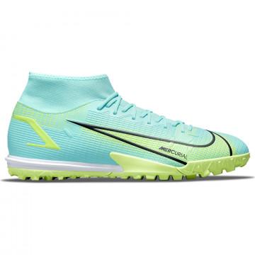 Nike Mercurial Superfly 8 Turf bleu