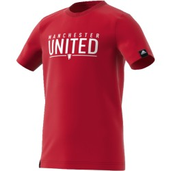 T-Shirt Junior Manchester United Rouge
