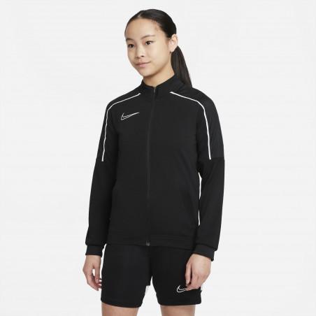Veste survêtement junior Nike Academy noir blanc