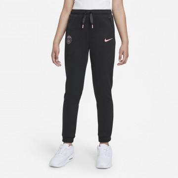 Pantalon survêtement junior PSG Fleece noir rose 2021/22