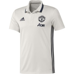 Polo Manchester United blanc 2016 - 2017