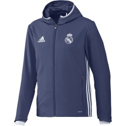 Veste Survêtement Real Madrid Bleue 2016 - 2017