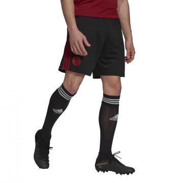 Short entraînement Bayern Munich noir rouge 2021/22