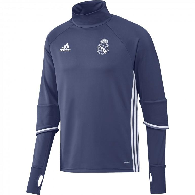 Sweat entraînement Real Madrid bleu 2016 - 2017