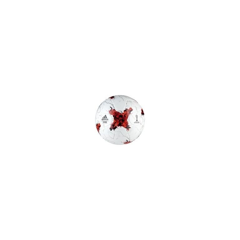 Ballon adidas Futsal blanc rouge