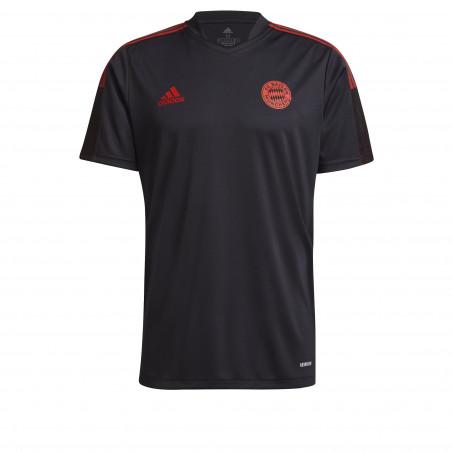 Maillot entraînement Bayern Munich noir rouge 2021/22