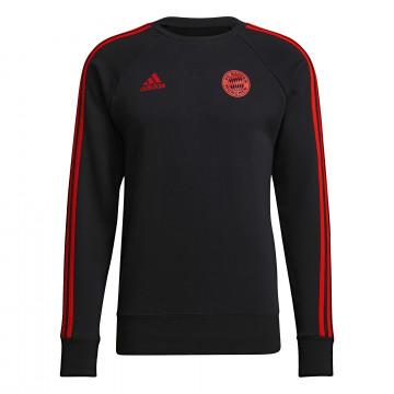Sweat Bayern Munich noir rouge 2021/22