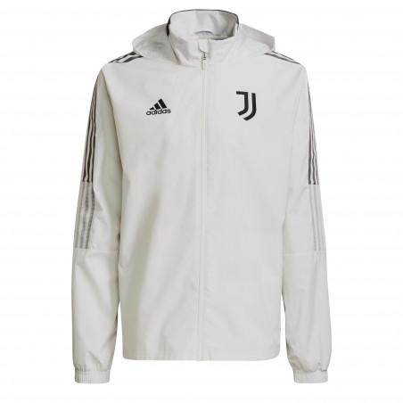 Veste imperméable Juventus blanc 2021/22