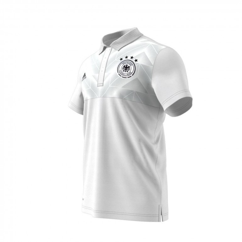 Polo Allemagne Blanc