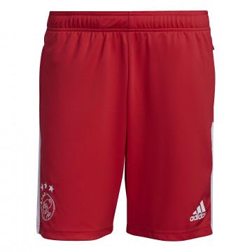 Short entraînement Ajax Amsterdam rouge blanc 2021/22