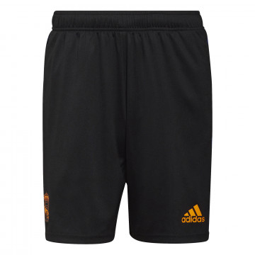 Short entraînement Real Madrid noir orange 2021/22