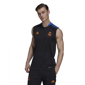 Débardeur Real Madrid noir orange 2021/22
