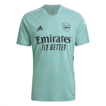 Maillot entraînement Arsenal vert 2021/22