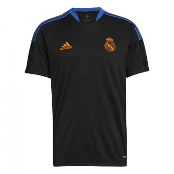 Maillot entraînement Real Madrid noir orange 2021/22