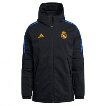 Manteau Real Madrid noir orange 2021/22