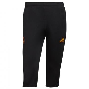 Pantalon survêtement 3/4 Real Madrid noir orange 2021/22