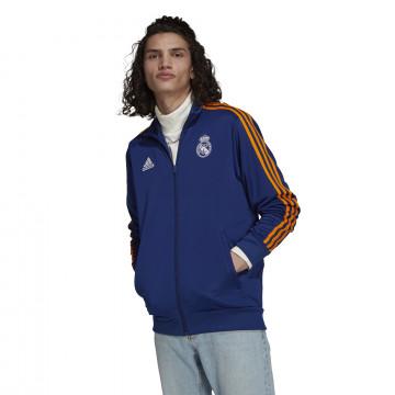 Veste survêtement Real Madrid 3S bleu orange 2021/22