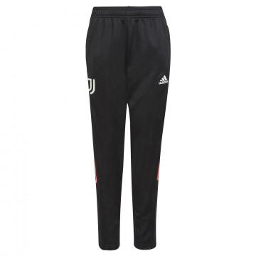 Pantalon survêtement junior Juventus noir rose 2021/22