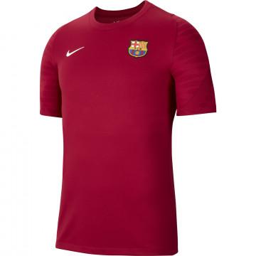 Maillot entraînement FC Barcelone rouge 2021/22