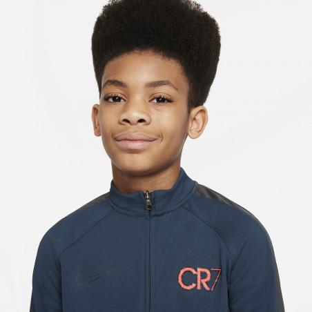 Ensemble survêtement junior Nike CR7 bleu rouge
