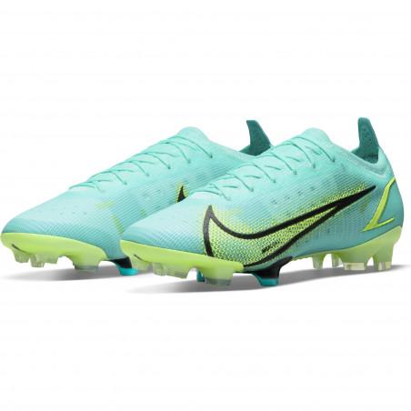 Nike Mercurial Vapor 14 Elite FG bleu