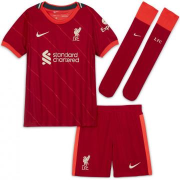 Tenue enfant Liverpool domicile 2021/22