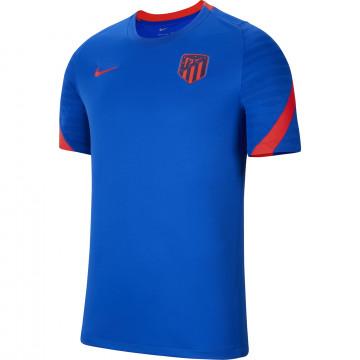 Maillot entraînement Atlético Madrid Strike bleu rouge 2021/22
