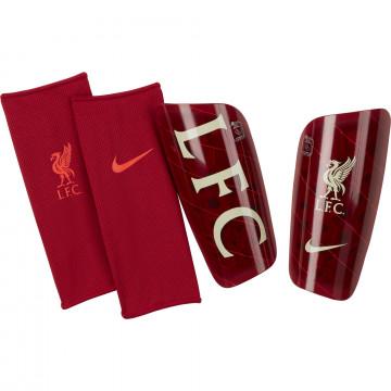 Protège tibias Liverpool rouge 2021/22