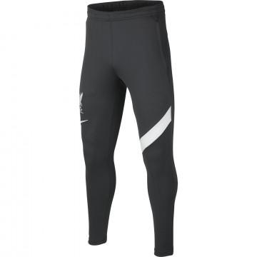 Pantalon survêtement junior Liverpool Academy gris blanc 2021/22