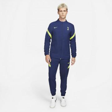 Ensemble survêtement Tottenham Woven bleu jaune 2021/22