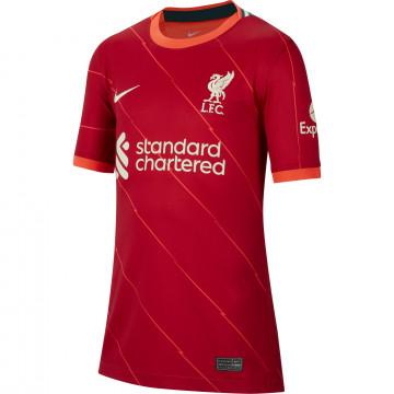 Maillot junior Liverpool domicile 2021/22