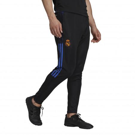 Pantalon survêtement Real Madrid noir orange 2021/22