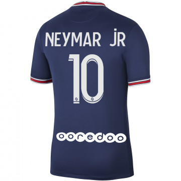 Maillot Neymar PSG domicile 2021/22