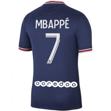 Maillot Mbappé PSG domicile 2021/22