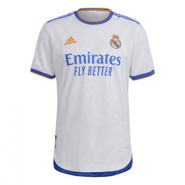 Maillot Real Madrid domicile Authentique 2021/22 + flocage