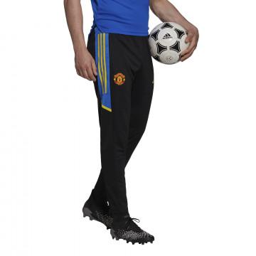 Pantalon entraînement Manchester United noir bleu 2021/22
