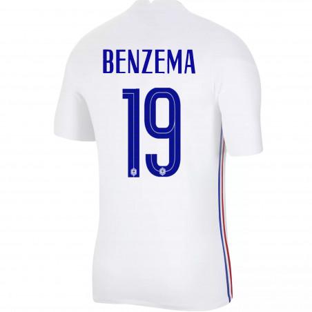 Maillot Benzema Equipe de France extérieur 2020