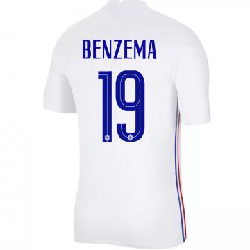 Maillot Benzema Equipe de France extérieur Authentique 2020