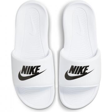 Sandales Nike Victori One blanc noir