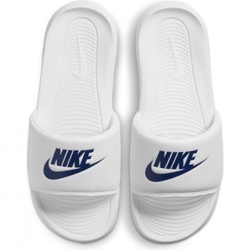 Sandales Nike Victori One blanc bleu