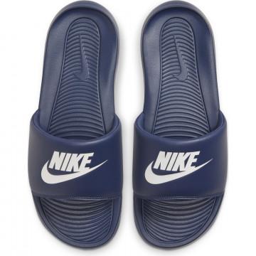 Sandales Nike Victori One bleu blanc