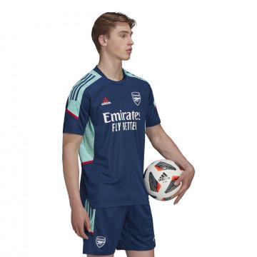 Maillot entraînement Arsenal Europe bleu 2021/22