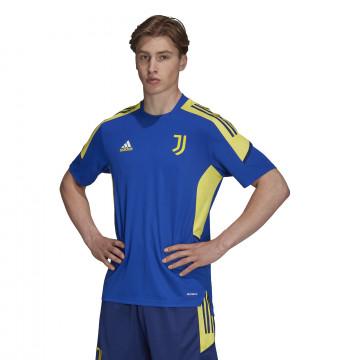Maillot entraînement Juventus Europe bleu jaune 2021/22