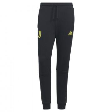 Pantalon survêtement Juventus molleton noir jaune 2021/22