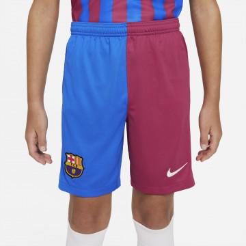 Short junior FC Barcelone domicile 2021/22