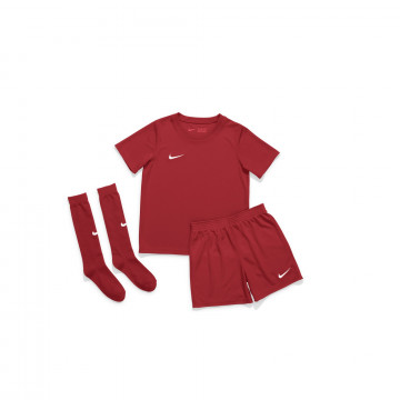 Tenue enfant entraînement Nike rouge