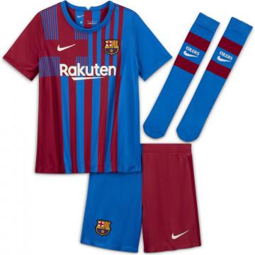 Tenue enfant FC Barcelone domicile 2021/22