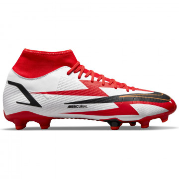 Nike Mercurial Superfly 8 CRY Academy FG/MG rouge blanc